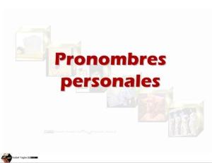 PronombresPersonales